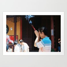 Jade Buddha Temple - Shanghai Art Print