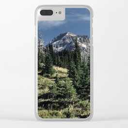 Mt. Hood Timberline Clear iPhone Case