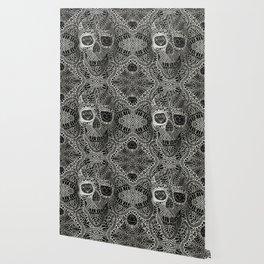 Lace Skull Wallpaper