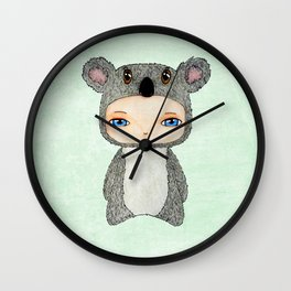 A Boy - Koala Wall Clock