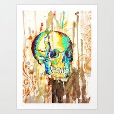 skull it Art Print