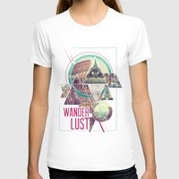 wanderlust T-shirts featuring Wanderlust by Kristen Williams