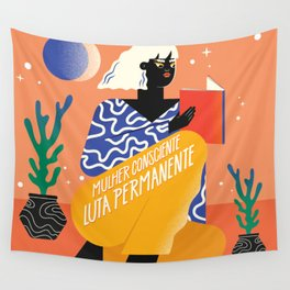 Consciousness Wall Tapestry