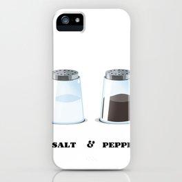 Salt & Pepper iPhone Case
