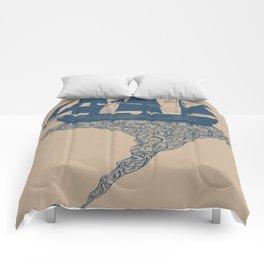 Exhaling Flotsam Comforters