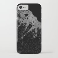 argentina iPhone & iPod Cases featuring Buenos Aires map Argentina by Line Line Lines