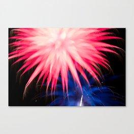 Geometric Firework 22 Canvas Print