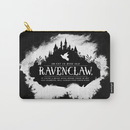Ravenclaw B&W Carry-All Pouch