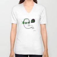 yolo V-neck T-shirts featuring Yolo by Ashdoun