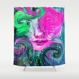 My Twisted Mind Shower Curtain