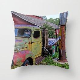 Yesterdays Dream Throw Pillow