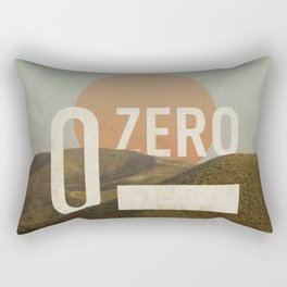 Zero Rectangular Pillow
