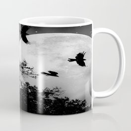 Haunting Moon & Trees Coffee Mug