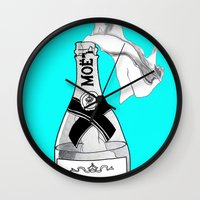 anarchy Wall Clocks featuring Bourgeois Anarchy by tCAP