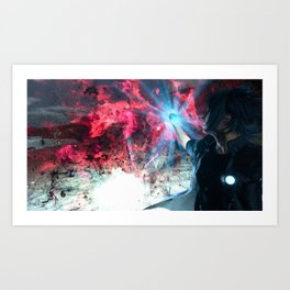 Final Fantasy XV - Noctis and the Ring of Lucii Art Print