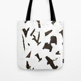 Rock N' Ice Print Tote Bag