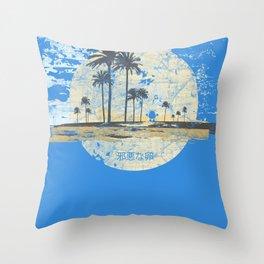 Treasure Island Dizzy Throw Pillow