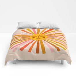 Sunshine – Retro Ochre Palette Comforters