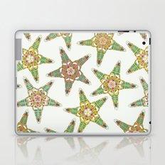 starfish flowers off white Laptop & iPad Skin