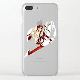 Erza Clear iPhone Case