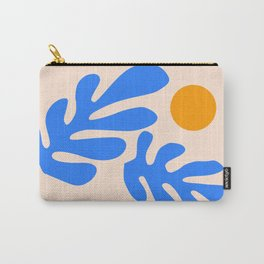Henri Matisse - Leaves - Blue Carry-All Pouch