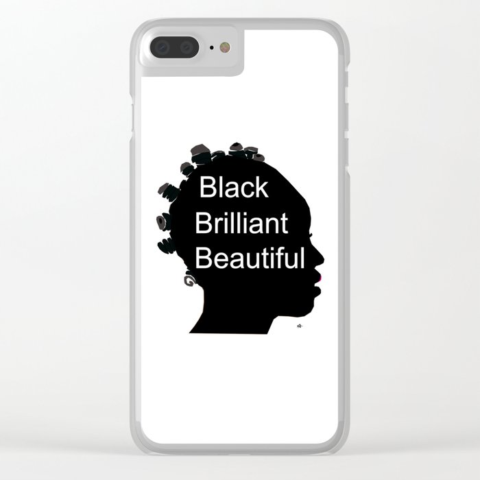 BBB Clear iPhone Case