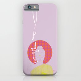 Buddha : Give Peace a Chance! (PopArtVersion) iPhone Case