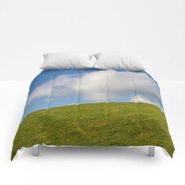 Blue sky Comforters