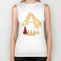 journey Biker Tanks featuring Journey by OhhhKaye