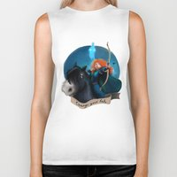 merida Biker Tanks featuring Merida by Fla'Fla'