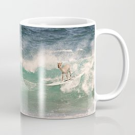 NEVER STOP EXPLORING - SURFING HAWAII Coffee Mug