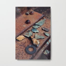 Urban treasures. Metal Print