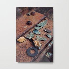 Urban treasures. Metal Print