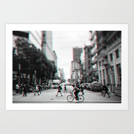 San Francisco Downtown Art Print