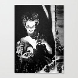 Masque of Evil Canvas Print