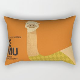 Hello Emu Rectangular Pillow