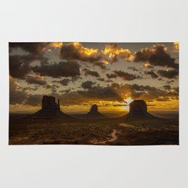 Monument Valley - Vivid Sunrise Rug