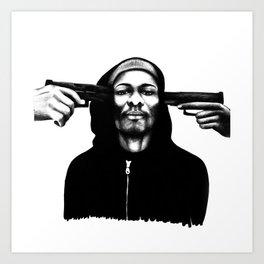 Don't Shoot Me Art Print