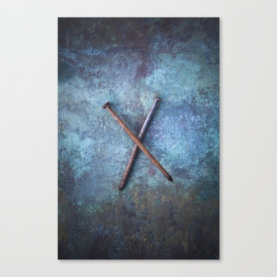 Two Nails Canvas Print