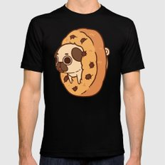 Puglie Cookie Mens Fitted Tee MEDIUM Black