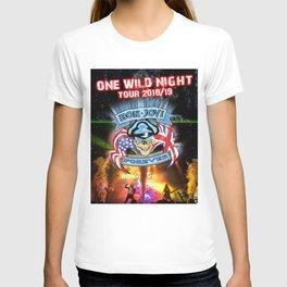 bon jovi one night tour 2019 halim T-shirt