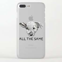 The Same Clear iPhone Case