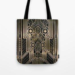 Art Nouveau Metallic design Tote Bag
