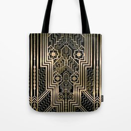 Art Nouveau Metallic design Tote Bag