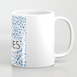 Good Vibes -Blue Coffee Mug