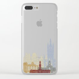 Bradford skyline poster Clear iPhone Case