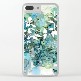 Beauty Of Chaos 1 Clear iPhone Case