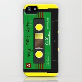 Audio K7 iPhone Case