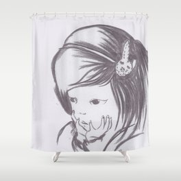 Little friend Shower Curtain