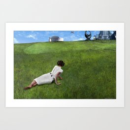 Leia's World Art Print